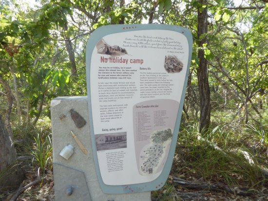 Magnetic Island, Australia: Well worth the short hike up the hill