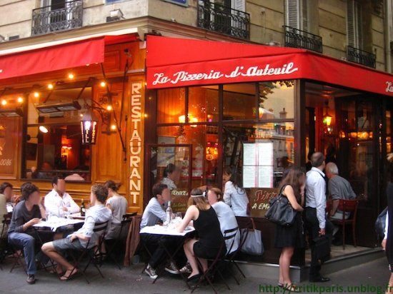 la plus agr ableable terrasse du 16eme photo de pizzeria d 39 auteuil paris tripadvisor. Black Bedroom Furniture Sets. Home Design Ideas