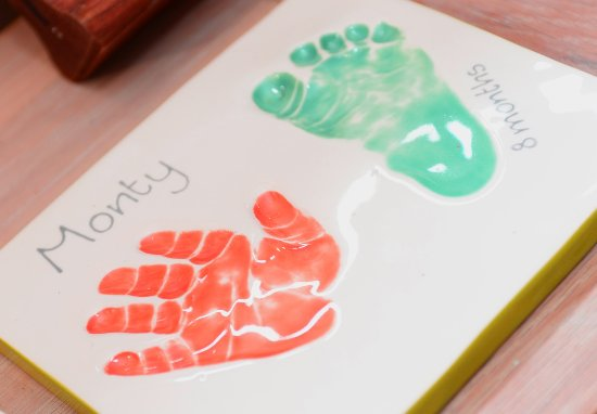 Sale, UK: Double clay imprint £42