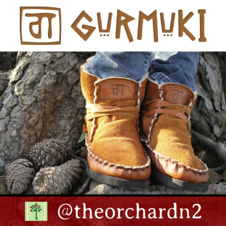 Grabouw, South Africa: Gurmuki handmade genuine leather  boots available at The Orchard Farm Stall