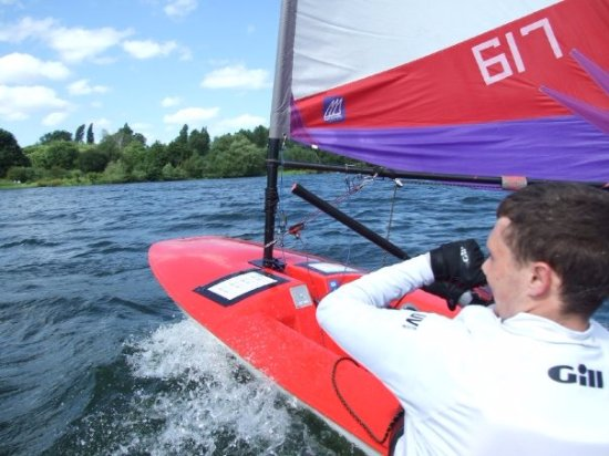 Rickmansworth, UK: Youth racing