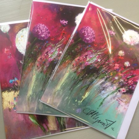 Tenterden, UK: Cathy McClaymont is Our Artist in residence. We stock her cards and Artwork
