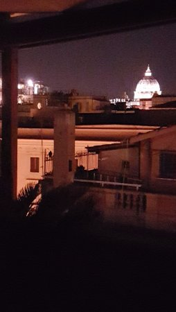 Hotel Arcangelo: View from roof terrace - best feature of hotel