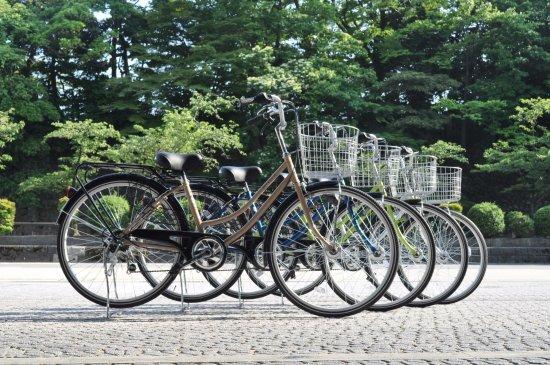 KKR Hotel Kanazawa : レンタサイクル