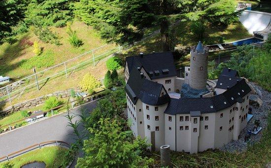Grunhain-Beierfeld, Alemania: Schauanlage Heimatecke in Waschleithe