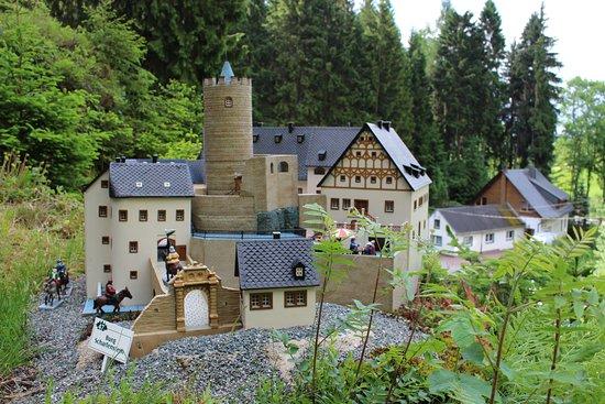 Grünhain-Beierfeld, Deutschland: Schauanlage Heimatecke in Waschleithe