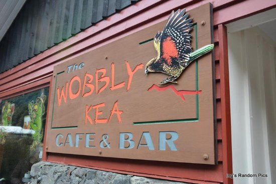 Arthur's Pass National Park, New Zealand: Wobbly Kea Cafe & Bar