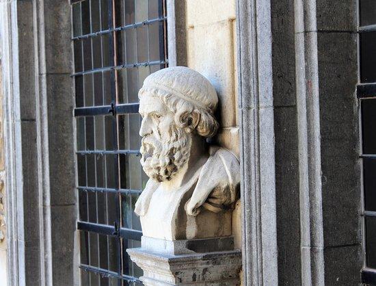 Rubens House (Rubenshuis): Büste des Philosophen Seneca im Rubens-Haus