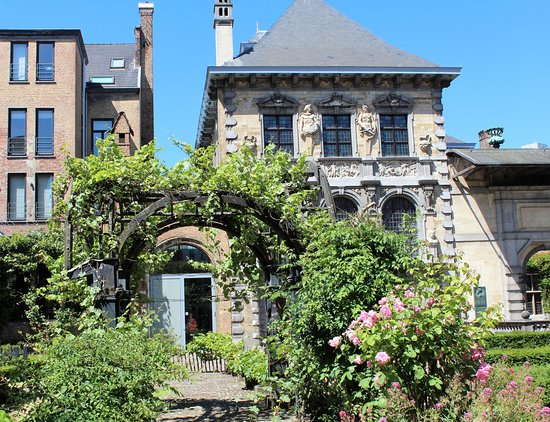 Rubens House (Rubenshuis): Rubens-Haus Gartenansicht