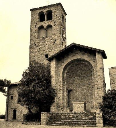 Vernasca, Italie : Pieve di San Colombano