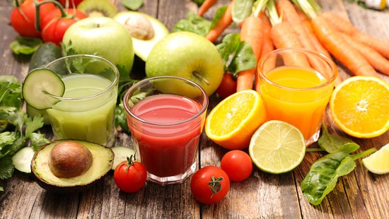 Levallois-Perret, Γαλλία: Jus de fruits et de légumes
