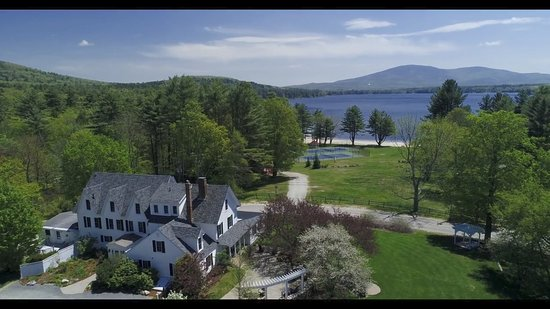 New London, NH: Incredible views, resort ammenities, beach access