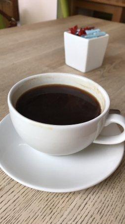Glasbury-on-Wye, UK: Good coffee