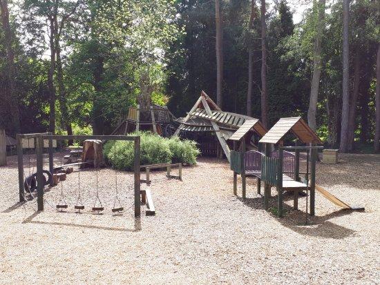 Bedale, UK: Playarea at Thorp Perrow