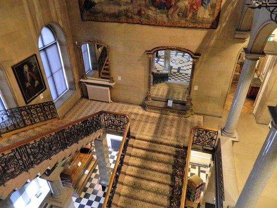The Bowes Museum: stairwell to two floors