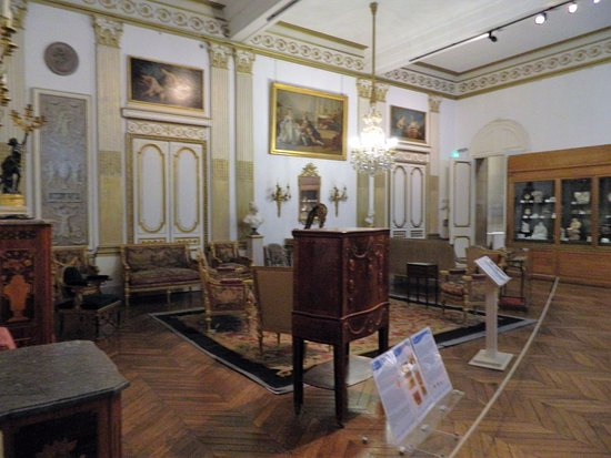The Bowes Museum: period room