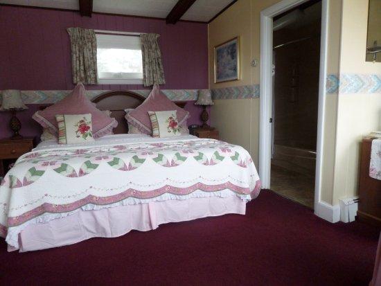 Rockport, เมน: King bedroom