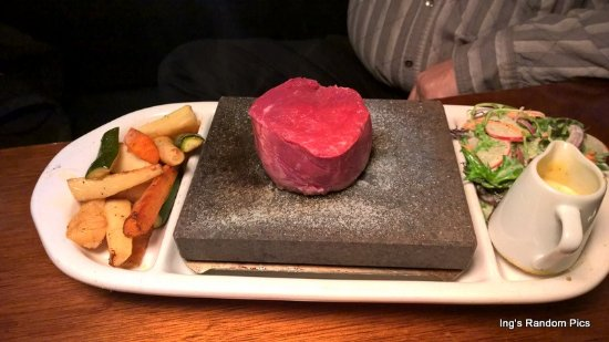 Hanmer Springs, New Zealand: Eye Fillet - the winner!