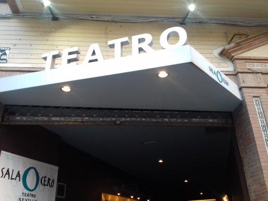 Entrada sala zero billede af sala cero teatro sevilla for Sala 0 teatro sevilla