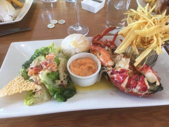 London Street Brasserie: The lobster ...