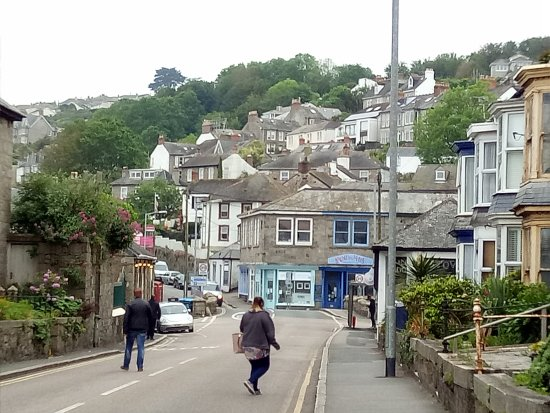 Newlyn, UK: on the road towards Penzance