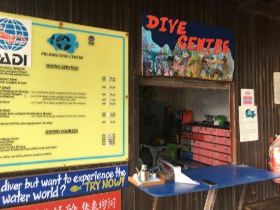 Redang Pelangi Resort: Dive Center