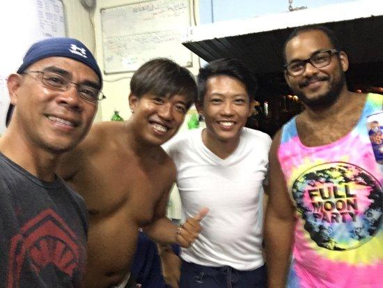 Redang Pelangi Resort: dive instructors