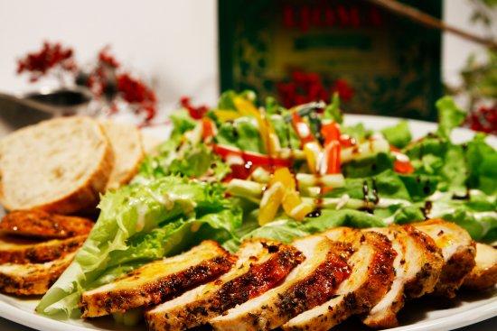 Laugarvatn, Islandia: Chicken salad, mmmmmmmmmm