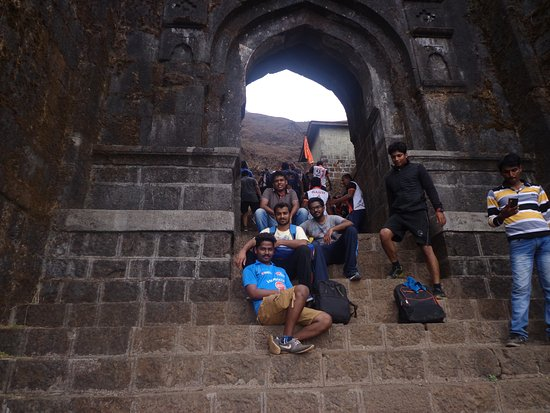 Rajgad Fort: Maha Darvaja