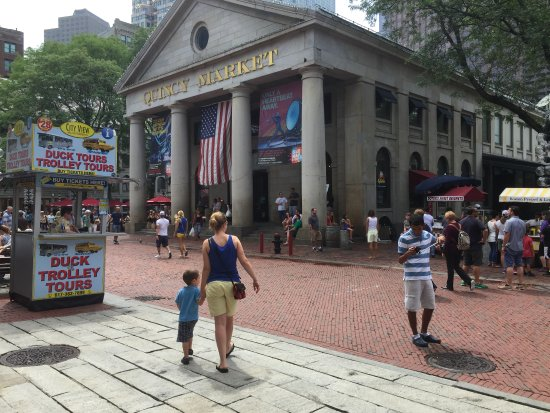Faneuil Hall Marketplace: Entrance