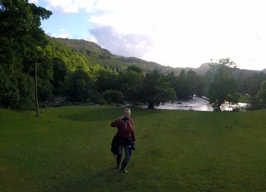 Llangollen and the Horseshoe Falls