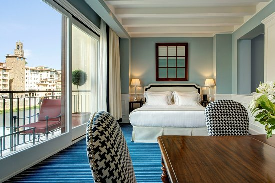 Hotel Lungarno: Suite Picasso Bedroom