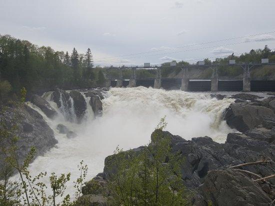 Grand Falls, Канада: chute
