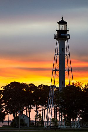 Walking distance from the Port Inn. The Cape San Blas Lighthouse is an awesome attraction.