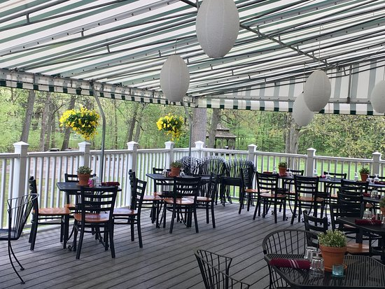 Naugatuck, CT: Patio is perfect setting for lunch or dinner, or your next event!