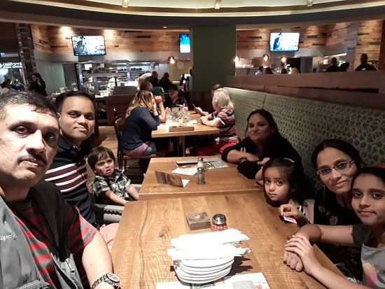 At California Pizza Kitchen in Mirage Hotel in Las Vegas - Picture ...