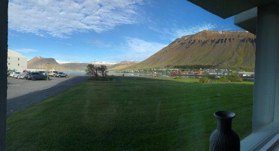 Isafjörður, Island: Views of and from Hotel Isafjordur