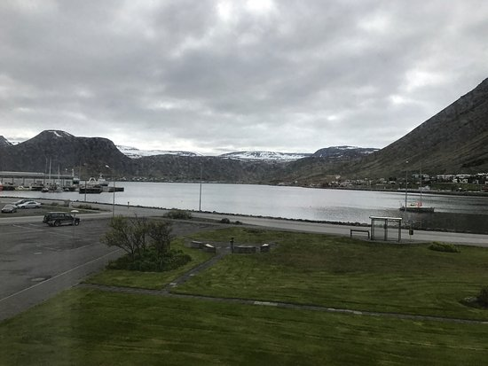 Views of and from Hotel Isafjordur