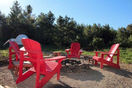 La Patrie, Canada: Soirée d'astronomie et feu de camp