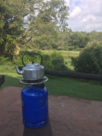 Hluhluwe Game Reserve, Νότια Αφρική: Mentioned picnic spot near point 16 in hluhluwe reserve