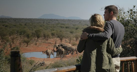 Etali Safari Lodge: Watch the world go by in from your private game viewing deck