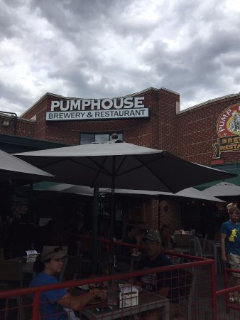 Exterior Of The Pumphouse Picture Of Pumphouse Brewery Longmont