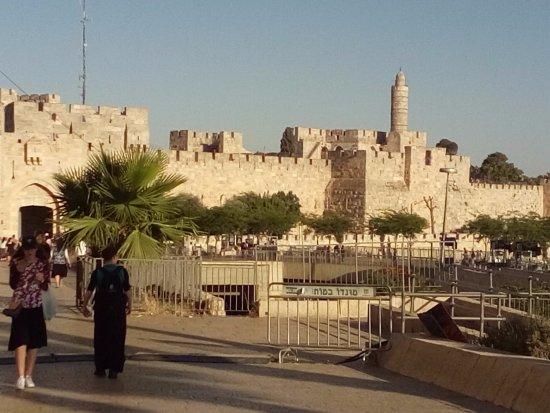 The Jerusalem Hostel: Oud Jeruzalem buiten de stadsmuren!