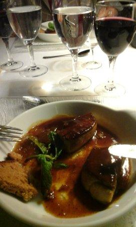 Cavagnac, Francia: Excellent début du repas mais la suite ......