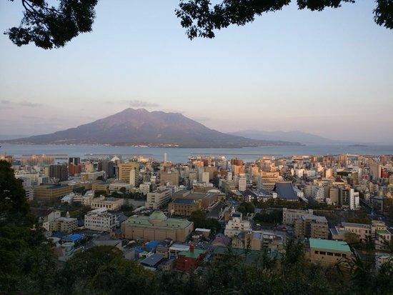 Mt. Shiroyama: early sunset