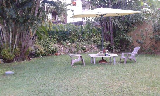 Les Bananiers : autre petit coin tranquille