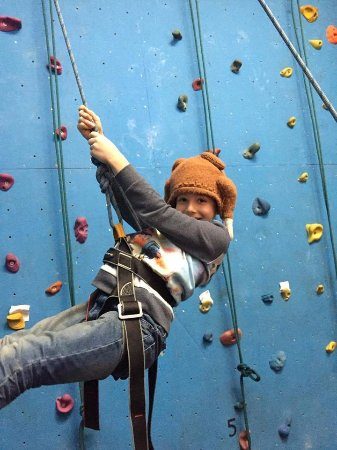 Audley, UK: Fun climbing