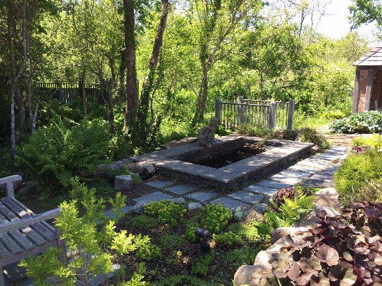 St. Mary's Episcopal Church: Be sure to visit the frog pond