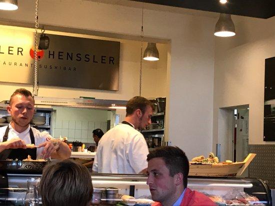 Henssler Henssler: Another Sushi Boat on top of Sushi Bar