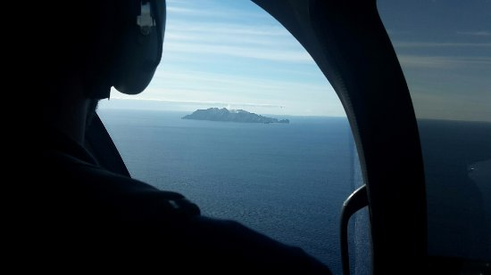 Whakatane, Yeni Zelanda: Anflug mit dem Heli (15 Minuten Flug)